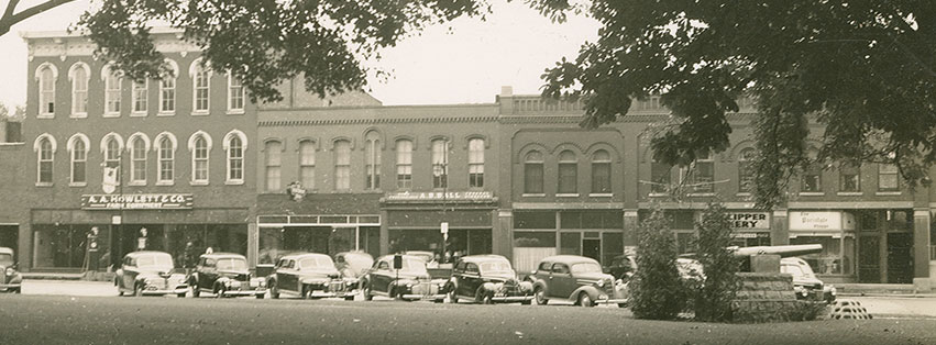 100 block of East Ash St. late 1941